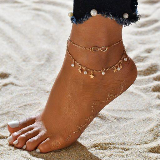 Grandinėlės ant kojos